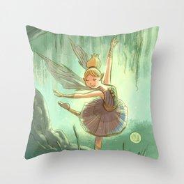 Goblins Drool, Fairies Rule - Willow Sue Throw Pillow