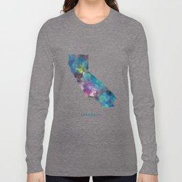 California Map Long Sleeve T-shirt