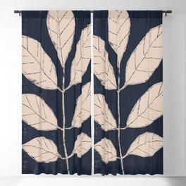 minimal plant 18 Blackout Curtain