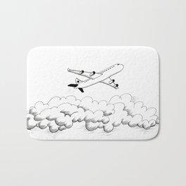 Airplane taking off Bath Mat