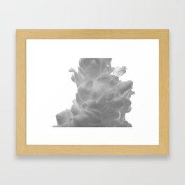 Plume on White Framed Art Print