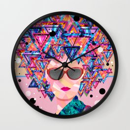 ...I Wanna Be A Star! Wall Clock