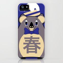Haru - Season bear Spring iPhone Case