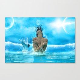 Sea Bitch Canvas Print