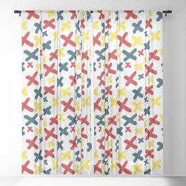 Mid-Century Exes Sheer Curtain
