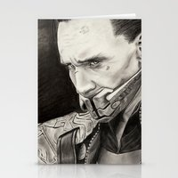 loki Stationery Cards featuring Loki by Ruth Ms