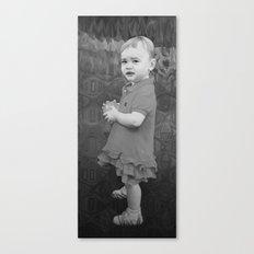 Little Eve (grey) Canvas Print
