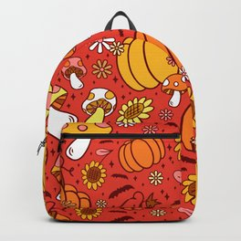 Psychedelic Fall Backpack