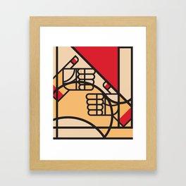 Remember Germany - 5/7 Framed Art Print