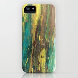Abstract Mystery of the Forest iPhone Case