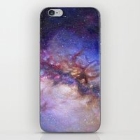 milky way iPhone & iPod Skins featuring Milky Way by Trisha Thompson Adams