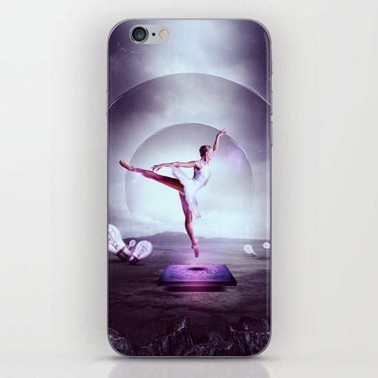 Beyond The Frame iPhone & iPod Skin