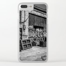 Hopes Clear iPhone Case