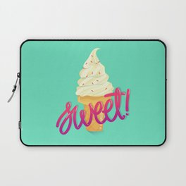 Stay Cool Stay Sweet Laptop Sleeve