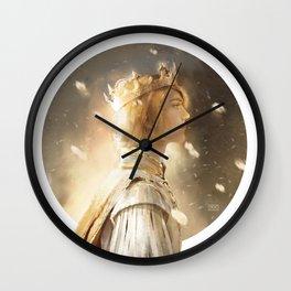 Golden King Wall Clock