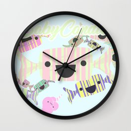 Baby Candies Wall Clock