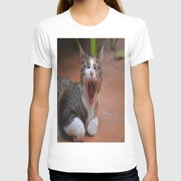 Liza the cat with a big smile T-shirt
