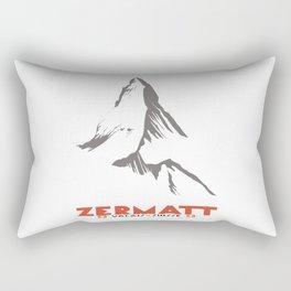 Zermatt, Valais, Switzerland Rectangular Pillow