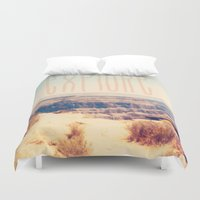 explore Duvet Covers featuring Explore by Bunhugger Design