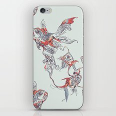 Floating in Deep iPhone & iPod Skin