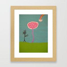 Praise the Unknown Framed Art Print