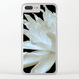 Hopeful Water Lilly II Clear iPhone Case