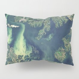 Poyang Lake & Ganjiang River, China Pillow Sham