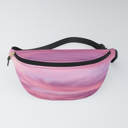 Pink Lavender Clouds Fanny Pack