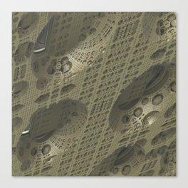 Fractal Cube Tech Canvas Print