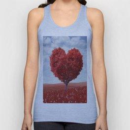 Tree heart Unisex Tank Top