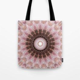 Mandala gentle blush Tote Bag