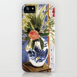 Henri Matisse - Poppies - Exhibition Poster iPhone Case