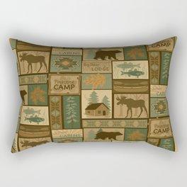 Big Bear Lodge Rectangular Pillow