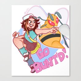 Trainer Arin Wants To Battle! Canvas Print