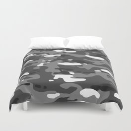 Military Camouflage: Urban II Duvet Cover