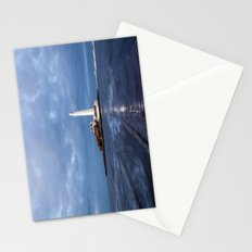 Dusk at St Mary's Lighthouse II Stationery Cards