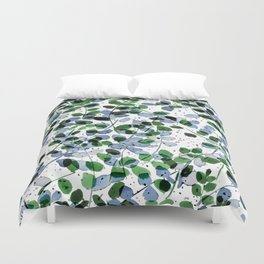 Synergy Blue and Green Duvet Cover