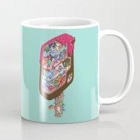 icecream Mugs featuring Icecream pop by makapa