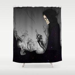 Death Galaxy Shower Curtain
