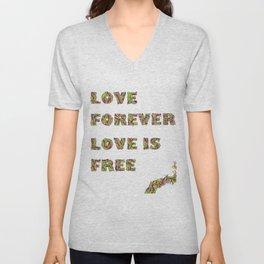 Love Forever Unisex V-Neck