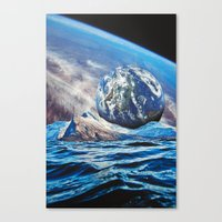 planets Canvas Prints featuring Planets by John Turck