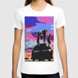 Vanlife purple T-shirt