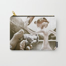 Naked Cowboy (retro color) Carry-All Pouch