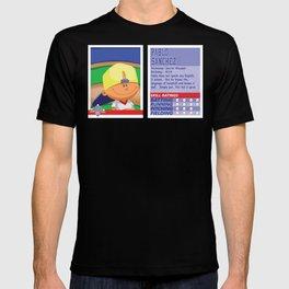 Pablo Sanchez Stat Card -Backyard Baseball T-shirt