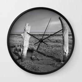 The Sea Forest, Thornham, Norfolk Wall Clock