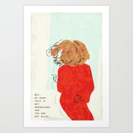 The Rabbit Art Print