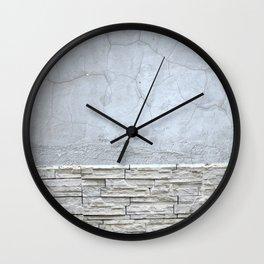 Stone pattern Wall Clock