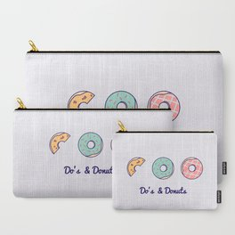 Do's & Donuts Carry-All Pouch