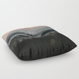 Good Morning! - Landscape and Nature Photography Floor Pillow