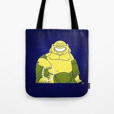 Smiling Buddha Tote Bag